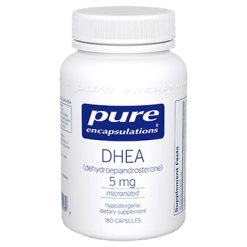 Pure Encapsulations DHEA micronized 5 mg 180 vcaps DHE33