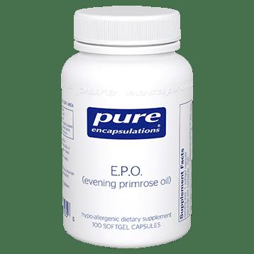 Pure Encapsulations E.P.O. evening primrose oil 100 gels EPO1