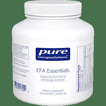 Pure Encapsulations EFA Essentials 120 softgels EFA1