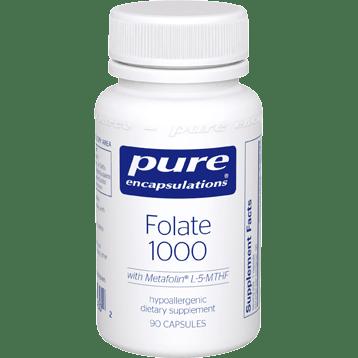 Pure Encapsulations Folate 1000 90 caps PFOL19
