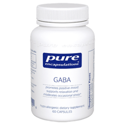 Pure Encapsulations GABA 60 vcaps GAB11