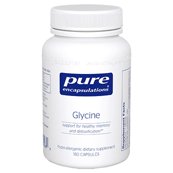 Pure Encapsulations Glycine 500 mg 180 vcaps GLY20