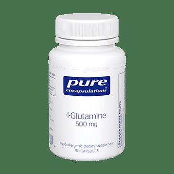 Pure Encapsulations L Glutamine 500 mg 90 vcaps GLU59