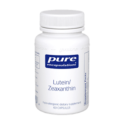 Pure Encapsulations Lutein Zeaxanthin 60 vcaps LZ6