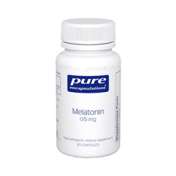 Pure Encapsulations Melatonin 0.5 mg 60 vcaps MEL25