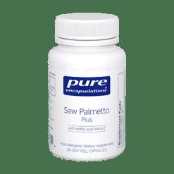 Pure Encapsulations Saw Palmetto Plus 60 gels SAW31