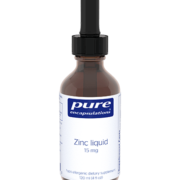 Pure Encapsulations Zinc Liquid 120 ml ZINL5