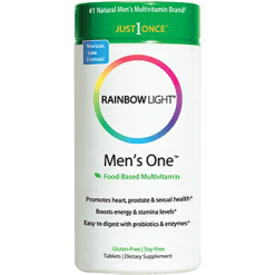 Rainbow Light Nutrition Mens One Multivitamin 90 tablets R10892
