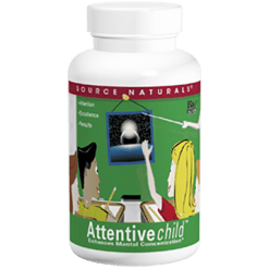 Source Naturals Attentive Child Chewables 30 wafers SN1213