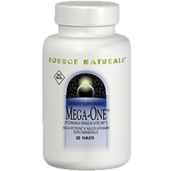 Source Naturals Mega One No Iron 60 tabs SN1441