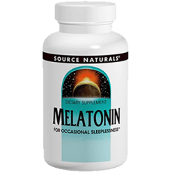 Source Naturals Melatonin 5 mg 60 tablets SN0556