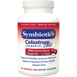 Symbiotics Colostrum Plus Cherry 120 chewables PS10130