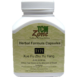 TCMzone Xue Fu Zhu Yu Tang 100 capsules T08171