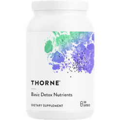 Thorne Research Basic Detox Nutrients 360 caps T11071