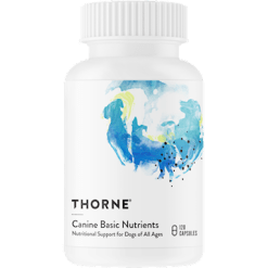 Thorne Research Canine Basic Nutrients 120 caps T99604