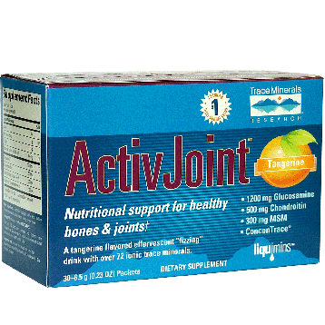 Trace Minerals Research Activjoint Bone amp Joint 30 packets T01185