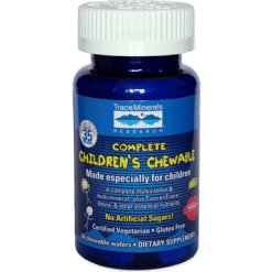 Trace Minerals Research Complete Childrens Chewable 60 wafers T00362