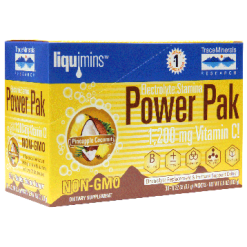 Trace Minerals Research Power PAK Pineapple Coconut 30 packs T0249