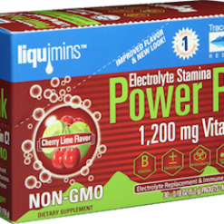 Trace Minerals Research Power Pak Cherry Lime 30 packets T01819