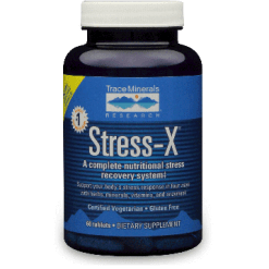 Trace Minerals Research Stress X 60 tablets T00980