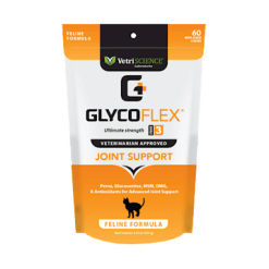 Vetri Science GlycoFlex III Feline Bite Sized 60 chews V00361