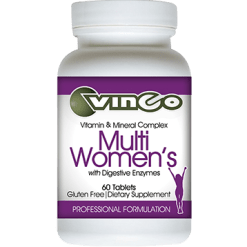 Vinco Multiwomens with Digestive Enzymes 60 tablets VFEM