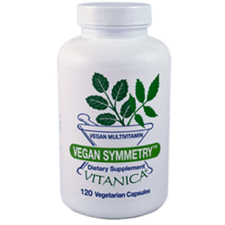 Vitanica Vegan Symmetry 120 vegetarian capsules V10965