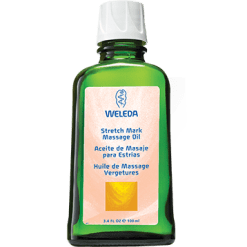 Weleda Body Care Stretch Mark Massage Oil 3.4 fl oz W95112