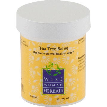 Wise Woman Herbals Tea Tree Salve 2 oz TEA9