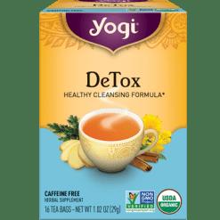 Yogi Teas Detox 16 bags Y45008