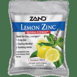 Zand Herbal Lemon Zinc Herbalozenge® 15 lozenges Z0023