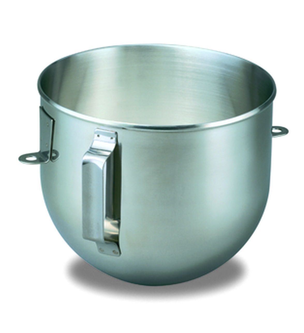 kitchen aid mixing bowls cabinets woburn ma 5qt polished stainless steel bowl with handle