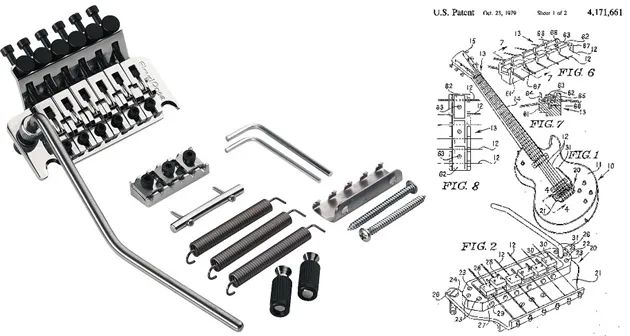 floyd rose locking tremolo diagram locking tremolo diagram gear