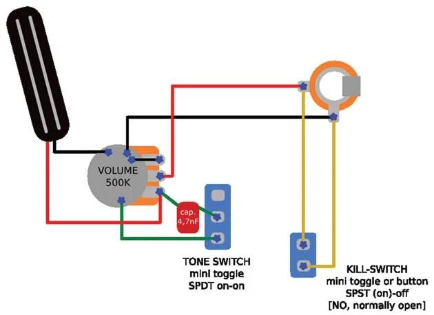 Dimarzio Super Distortion Wiring Diagram