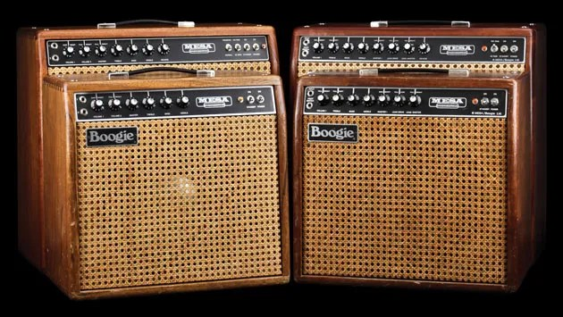 Vintage Vault Late70s MesaBoogie Mark I and Mark II