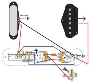 Mod Garage: Telecaster Series Wiring   Premier Guitar