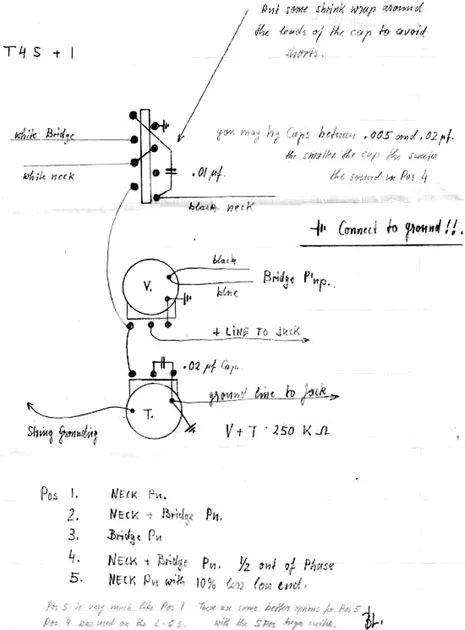 bill lawrence humbucker wiring diagram 2