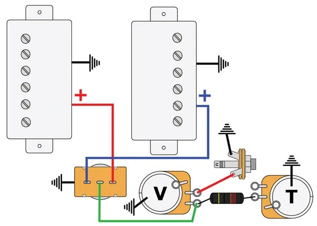 gibson les paul recording wiring diagram map sensor mod garage: master #1 | premier guitar