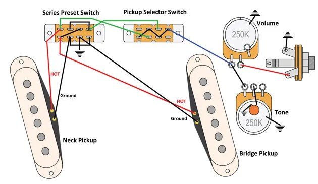 Wiring Diagram For Stratocaster