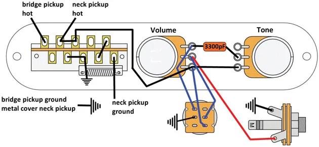 Telecaster Wiring Schematic Mod Garage The Super Flexible Super Simple Telecaster