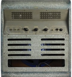 this same mckinney amp can also be found in the 1949 national catalog as model 1260 it cost 165 at the time and produces about 16 watts of power  [ 1071 x 1260 Pixel ]