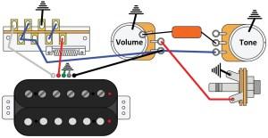 Mod Garage: The TripleThreat, Solo Humbucker Wiring