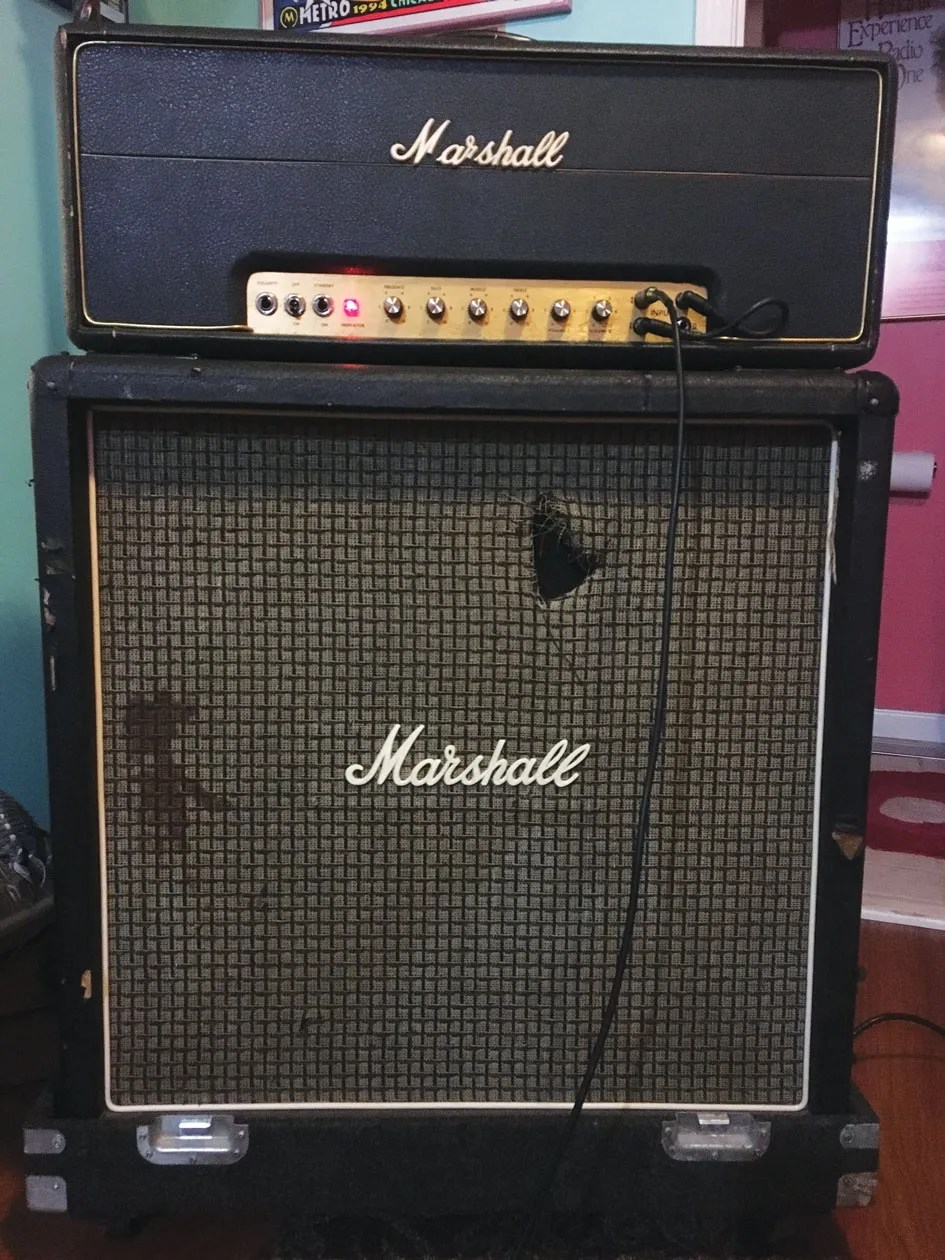 medium resolution of a higher feedback resistor value is among the design aspects that make an old school marshall amp have more grit or grind than an old school fender