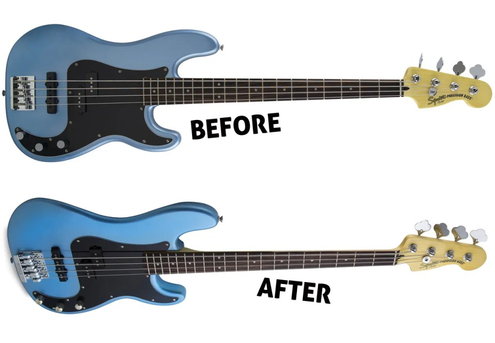 medium resolution of squier vintage modified precision bass pj
