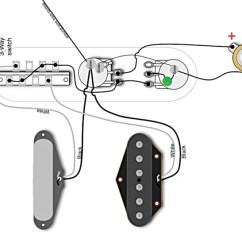 Wiring Diagram Telecaster Vtec Obd1 Factory Wirings Pt 2 Premier Guitar The Post 1967 That S Still Standard Today Courtesy Of Seymour Duncan And Used By Permission