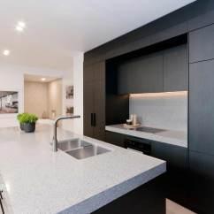 Black Pull Handles Kitchen Cabinets How To Make Spice Racks For Penkivil St, Bondi | Premier Kitchens