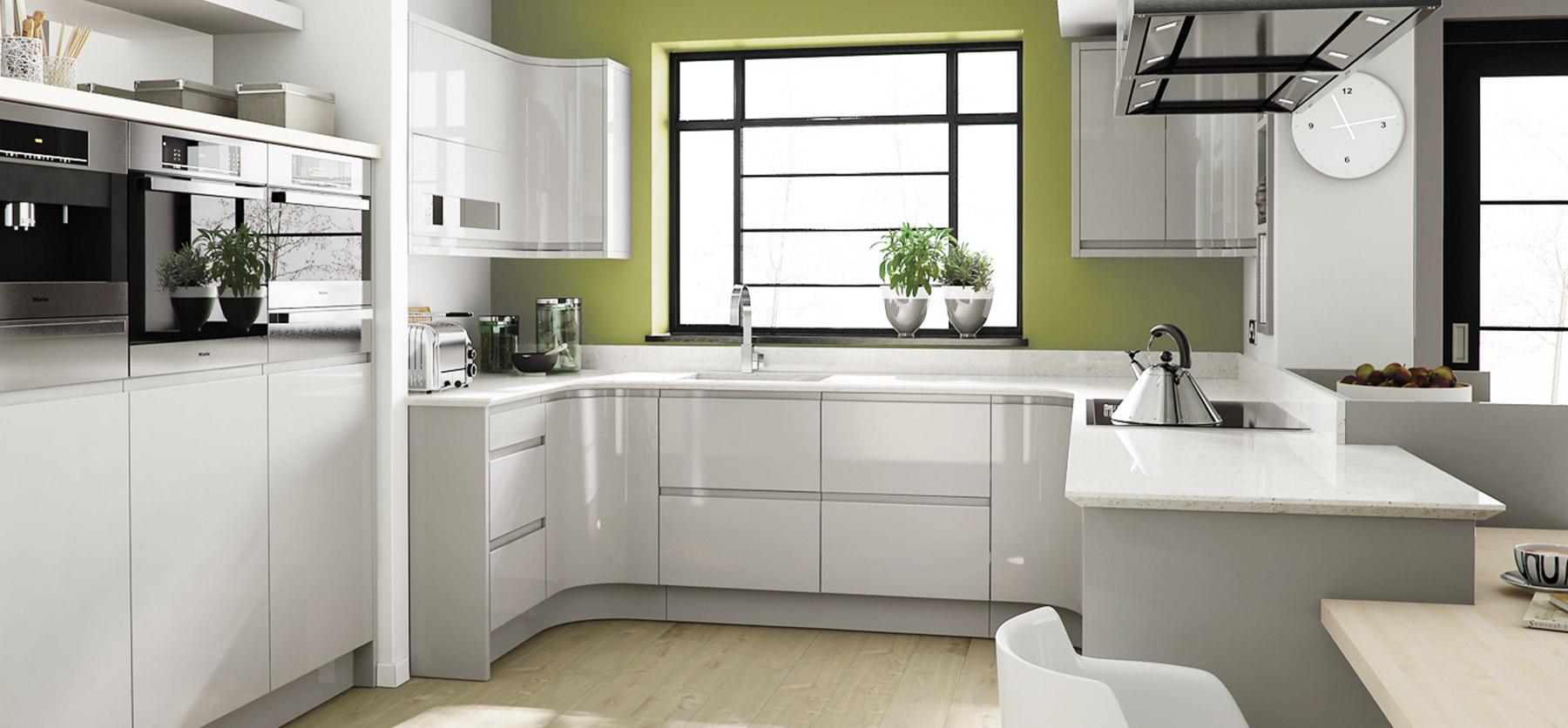 Modern Kitchens  Premier Kitchens