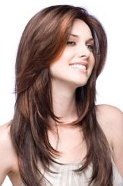 layered haircuts brown indian human