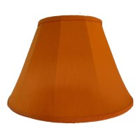 Burnt Orange Contemporary Lampshade