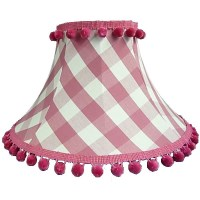 Sorbet Gingham Empire Lampshade